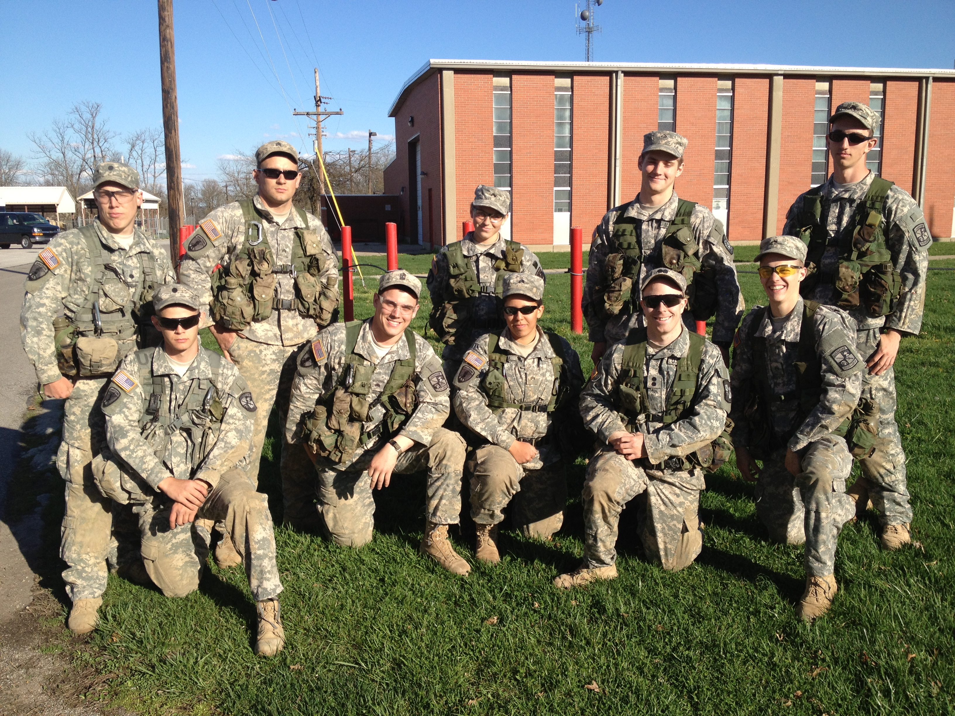 eku army rotc places 2nd at best ranger competition army. Black Bedroom Furniture Sets. Home Design Ideas
