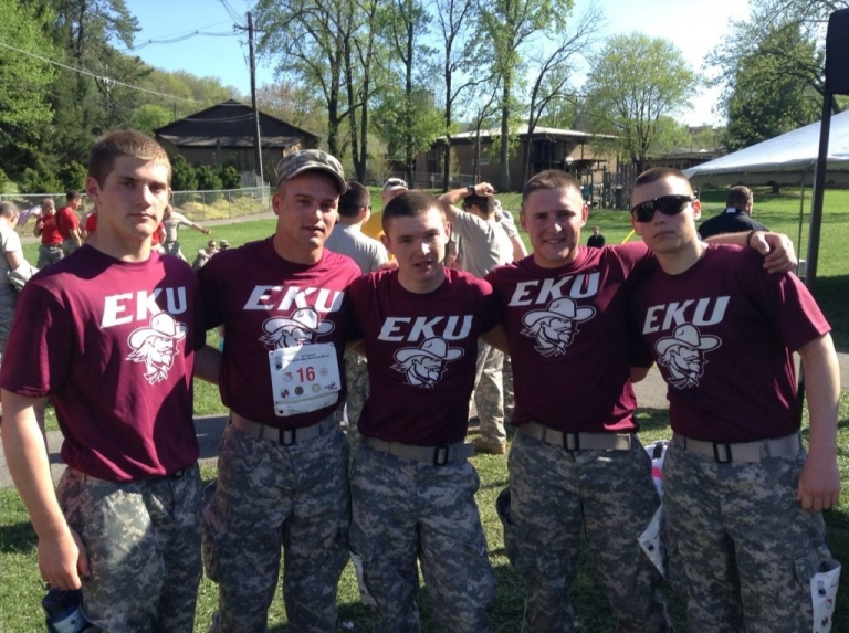 EKU Colonel's Battalion Mountain Man team