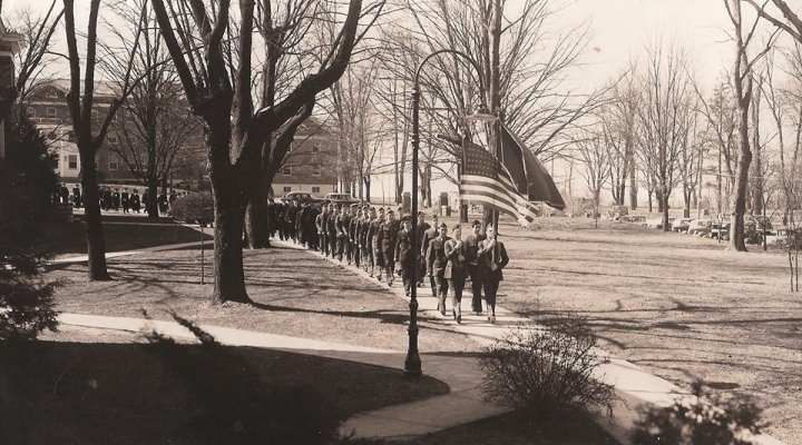 Historic photos of the Colonels' Battalion