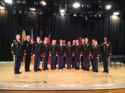 Eastern Kentucky University Army ROTC commissioned 15 Second Lieutenants
