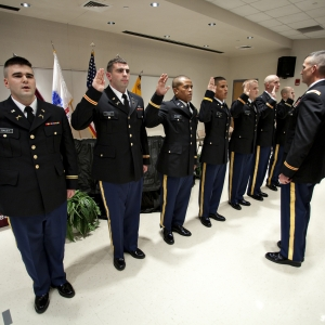 Colonels' Battalion Commissioning Ceremony for fall 2009