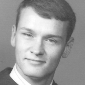 William Jackson Brewer at the time of EKU graduation, 1969