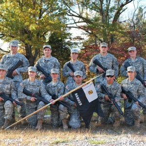 EKU ROTC Places Second in Five-State Brigade Competition